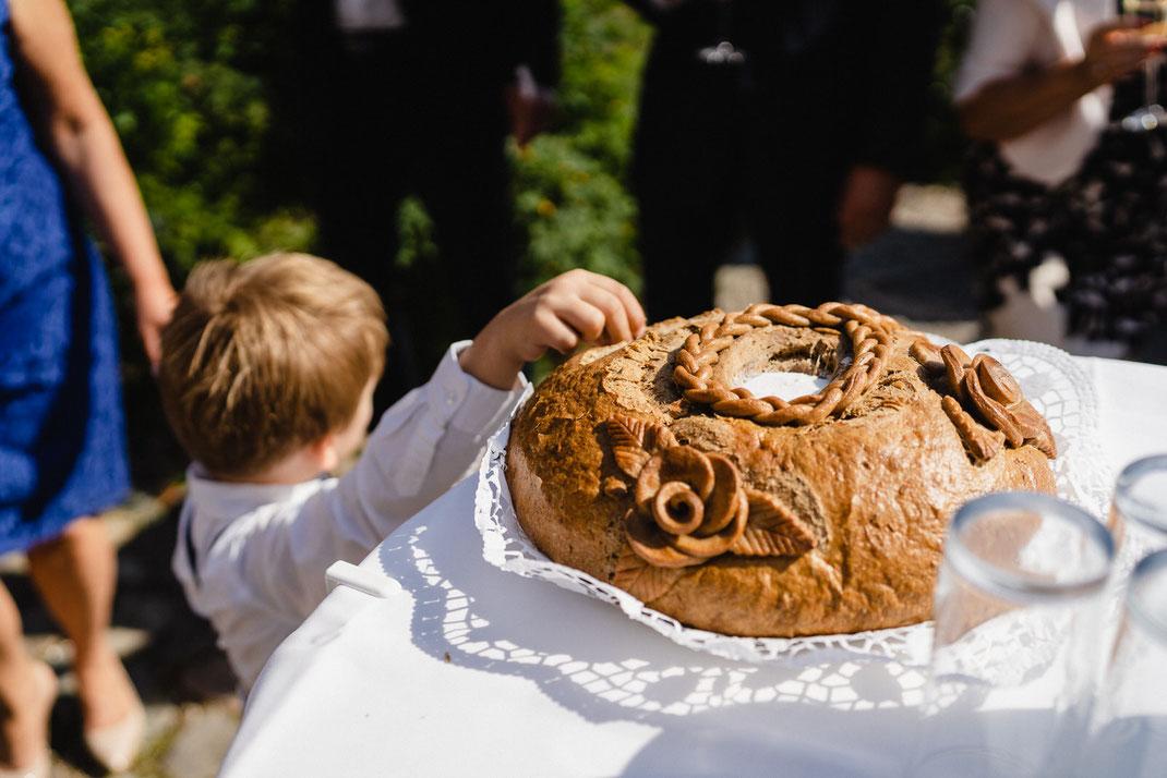 Salzteig Junge Hochzeit Kind