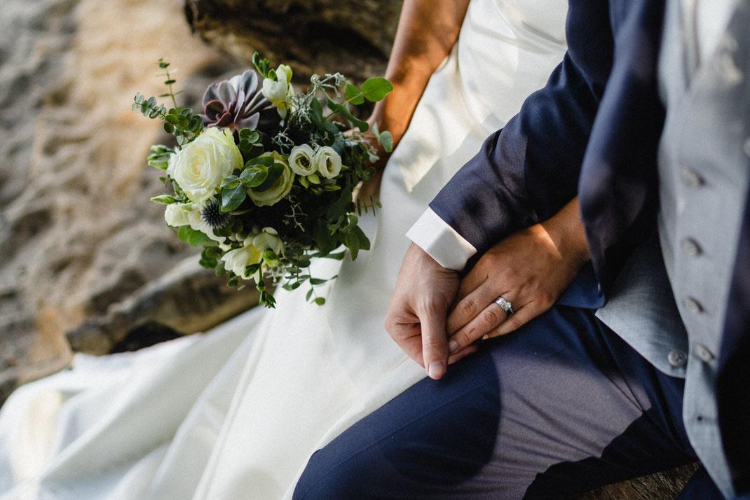 Hand Liebe Strauß Ring Fotograf
