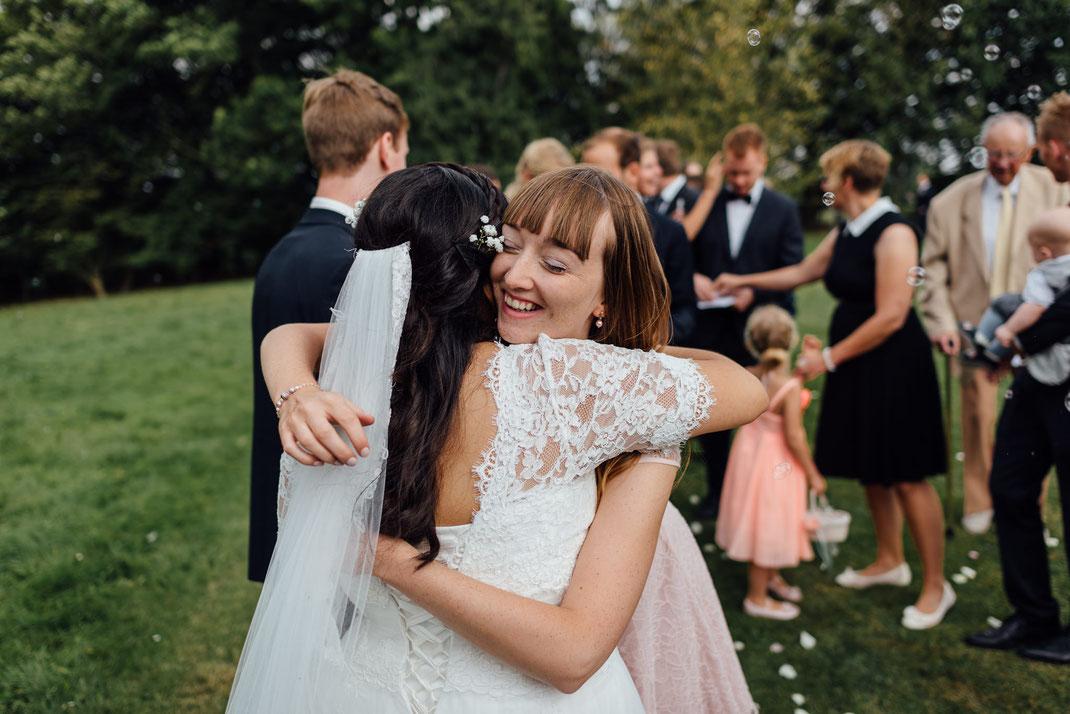 Beste Freundin gratuliert Hochzeit
