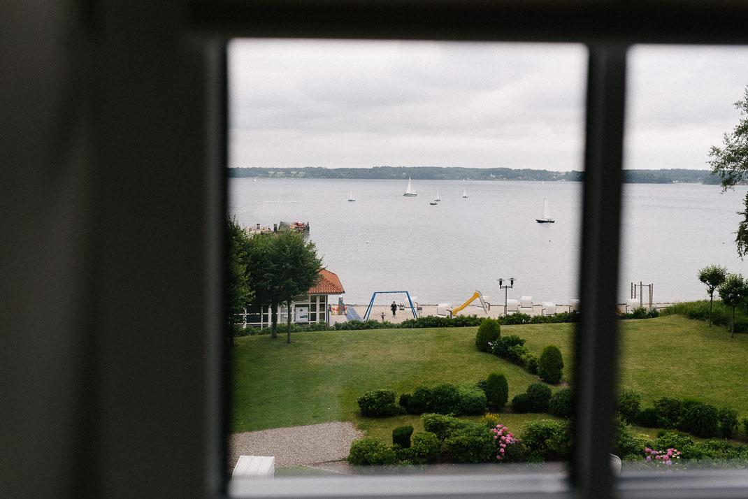 Blick auf die Flensburger Förde Ostsee Hochzeit