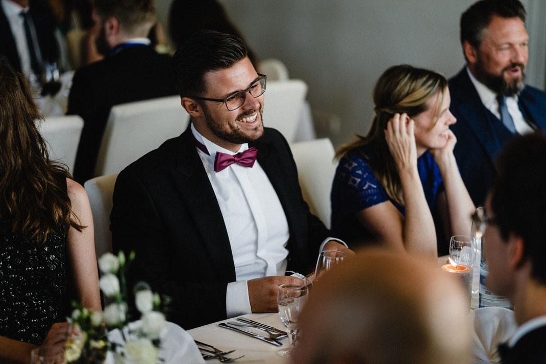 Hochzeitsfeier Mann Fliege