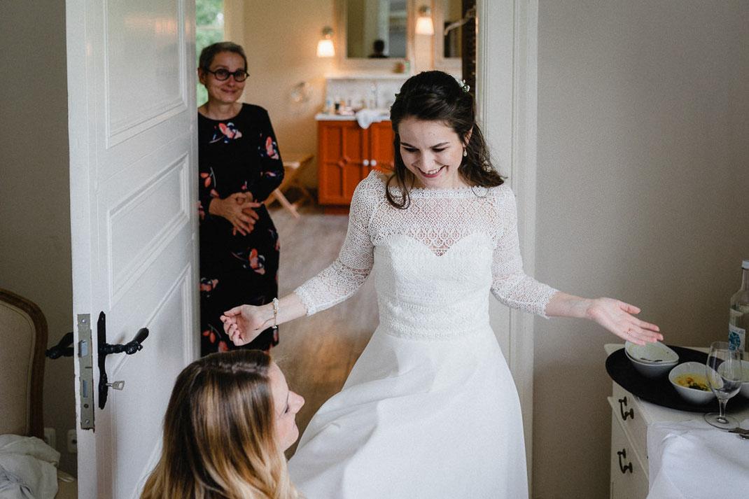 Braut Tür Bad Rock Hoch lachen