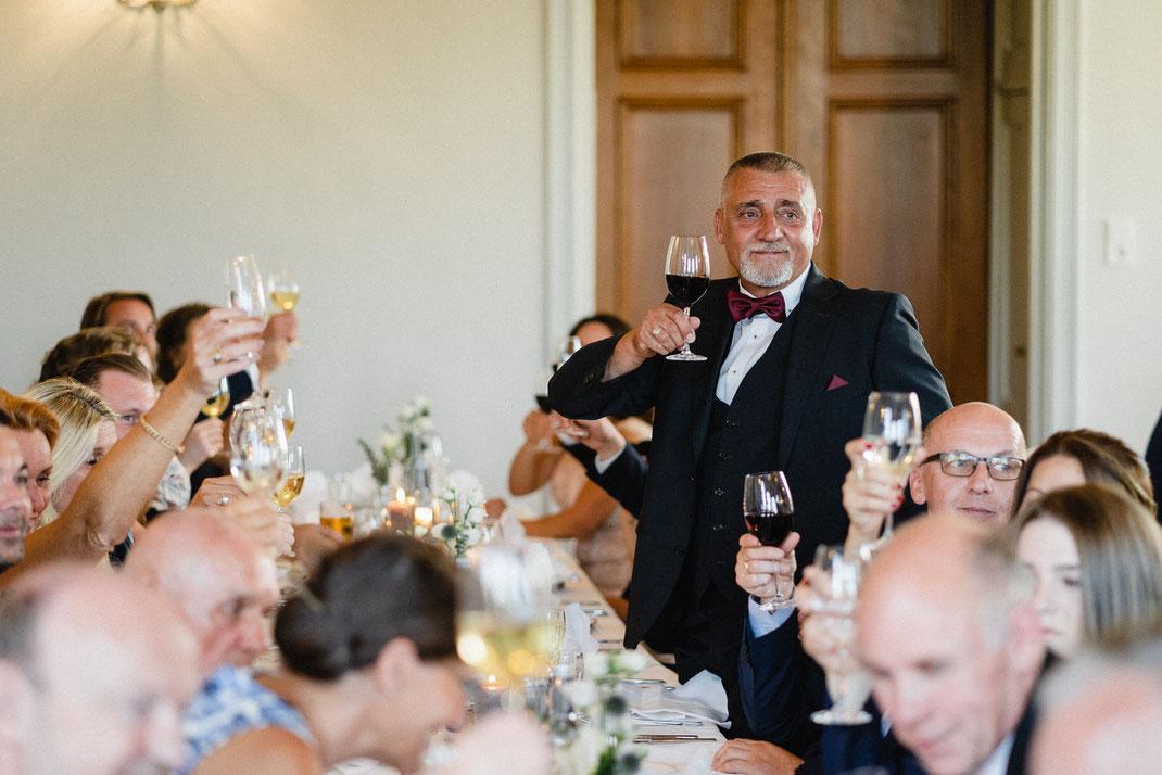 Prost Wein Hochzeit Feier