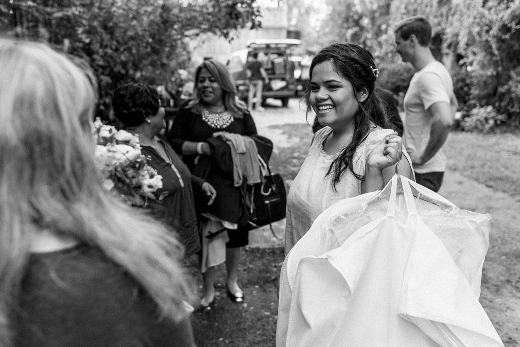 Braut bei der Vorbereitung Lübeck