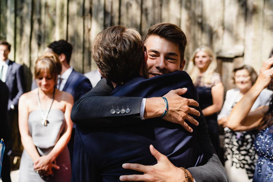 Bräutigam Umarmung Armband Hochzeit