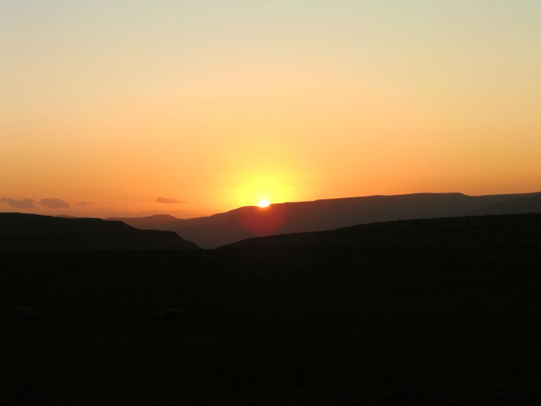 Sonnenuntergang im Sinai
