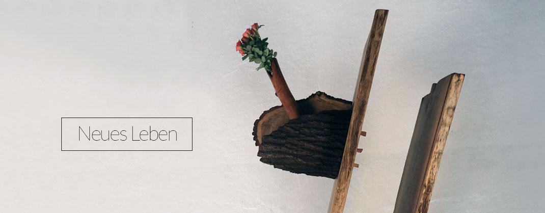 Skulptur aus Eichenholz, kreatives Kunsthandwerk