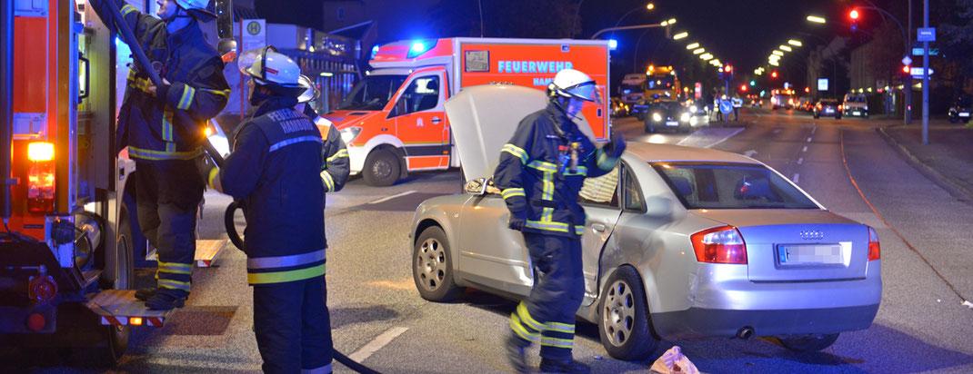 21.09.2016 - Schwerer Verkehrsunfall mit 3 Verletzten.