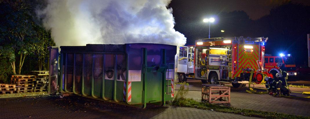 10.10.2016 - Brandstiftungen in Oststeinbek.