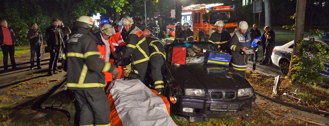 02.10.2016 - Schwerer Verkehrsunfall an der Sechslingspforte.