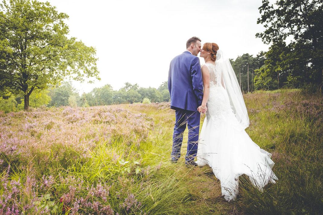 Hochzeitsreportage in der Heide, Niedersachsen, Bremen, Hamburg,