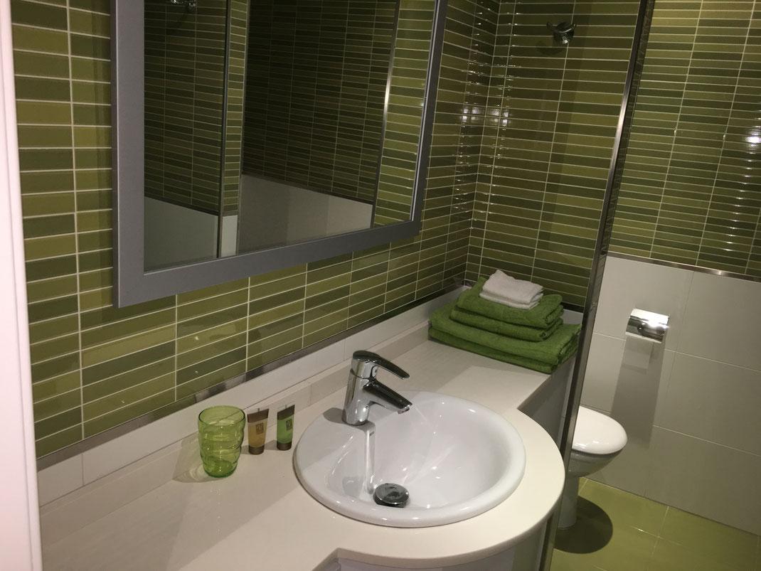 tweede badkamer appartement in valencia