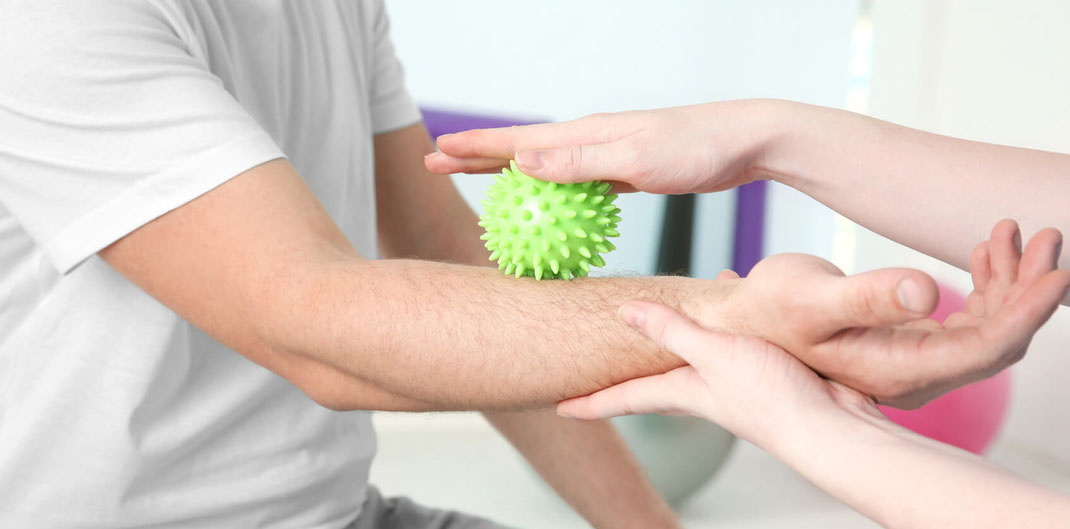 Handtherapie im Therapiezentrum Waldheim