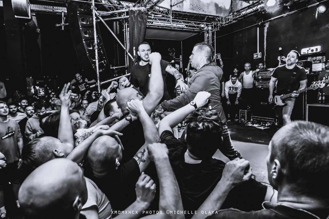 COMEBACK KID - ONE KING DOWN - NO TURNING BACK - JESUS PIECE - SHARPTOOTH at CONNE ISLAND. LEIPZIG.