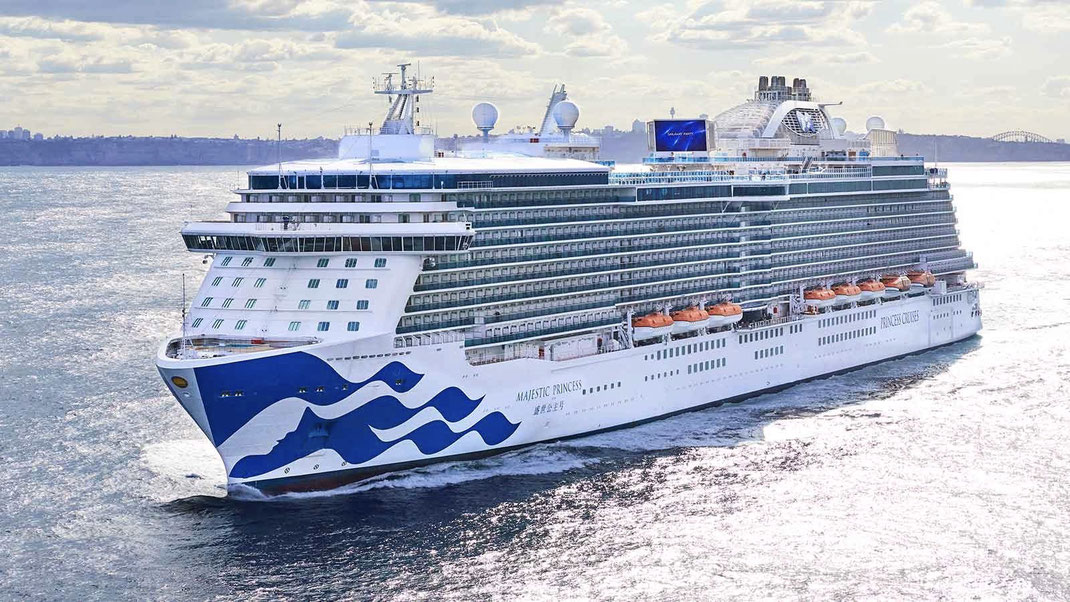 Die Majestic Princess von Princess Cruises (Bild Princess Cruises)