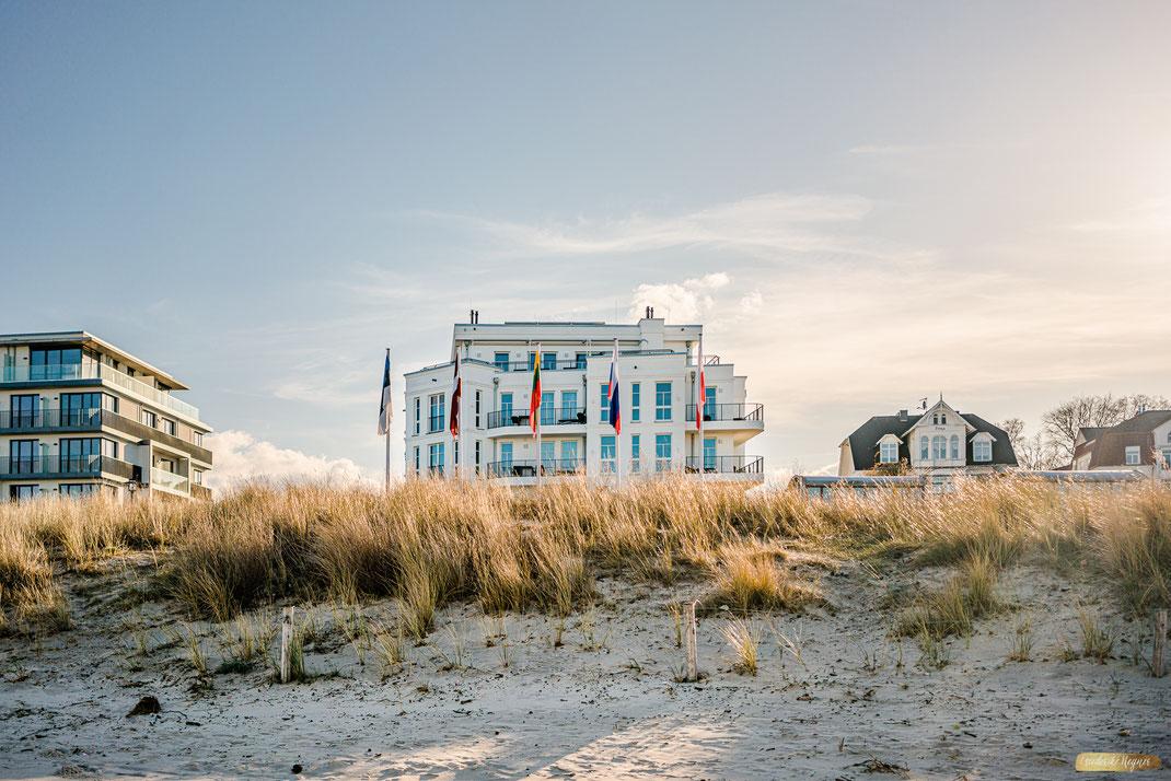 Beachhouse Bansin • Insel Usedom im März 2020Ansicht vom Strand
