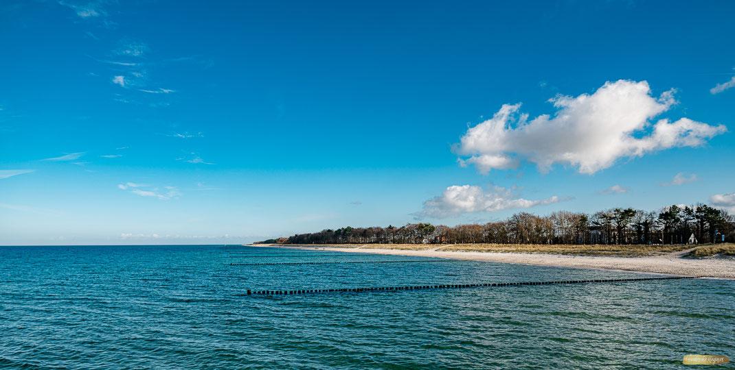 Zingst, Fischland Darss, Strandaufnahme