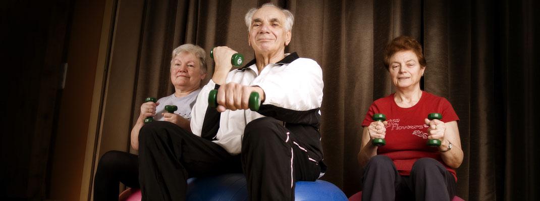 Gruppengymnastik - Physiotherapie Peggy Raschke