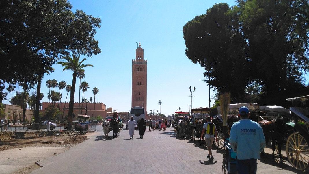 Marrakesch Marrakech Marokko Morocco  Djemaa el Fna
