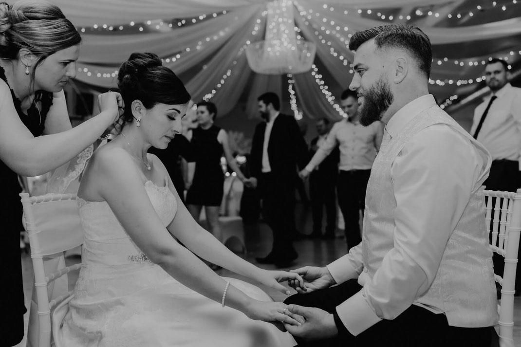 Russische Hochzeit Schleierabnahme