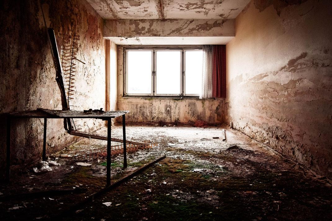 Im Bettenhaus der Wachkompanie