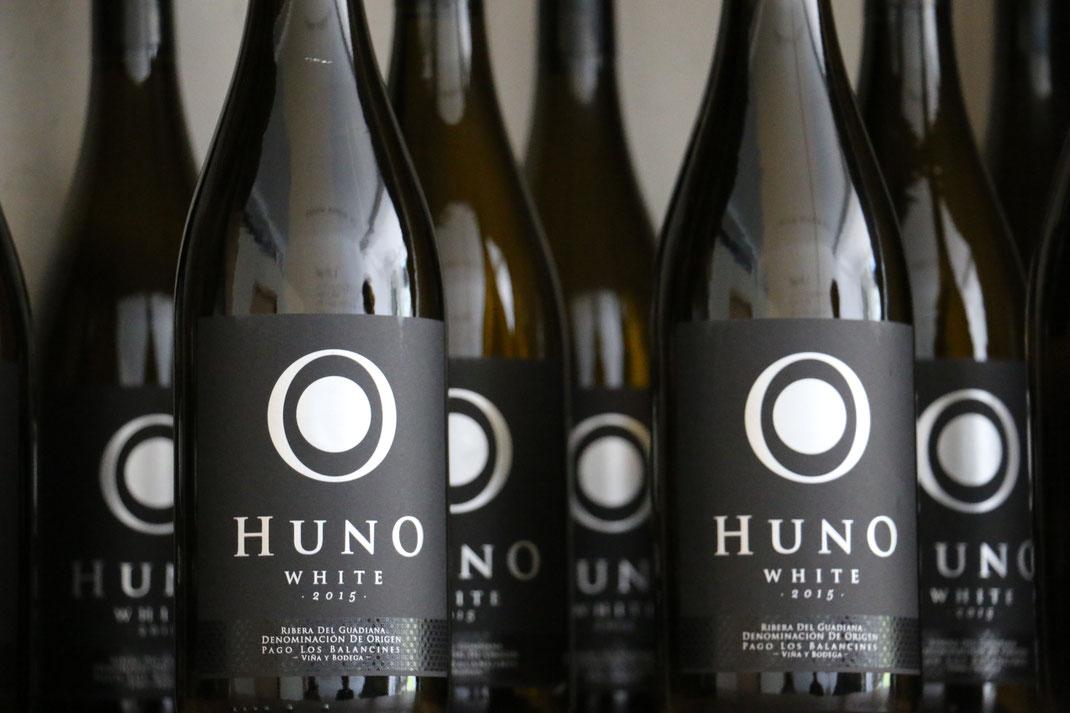 Pago los Balancines Huno White Ribera del Guadiana Extremadura Wein Chardonnay Spanien