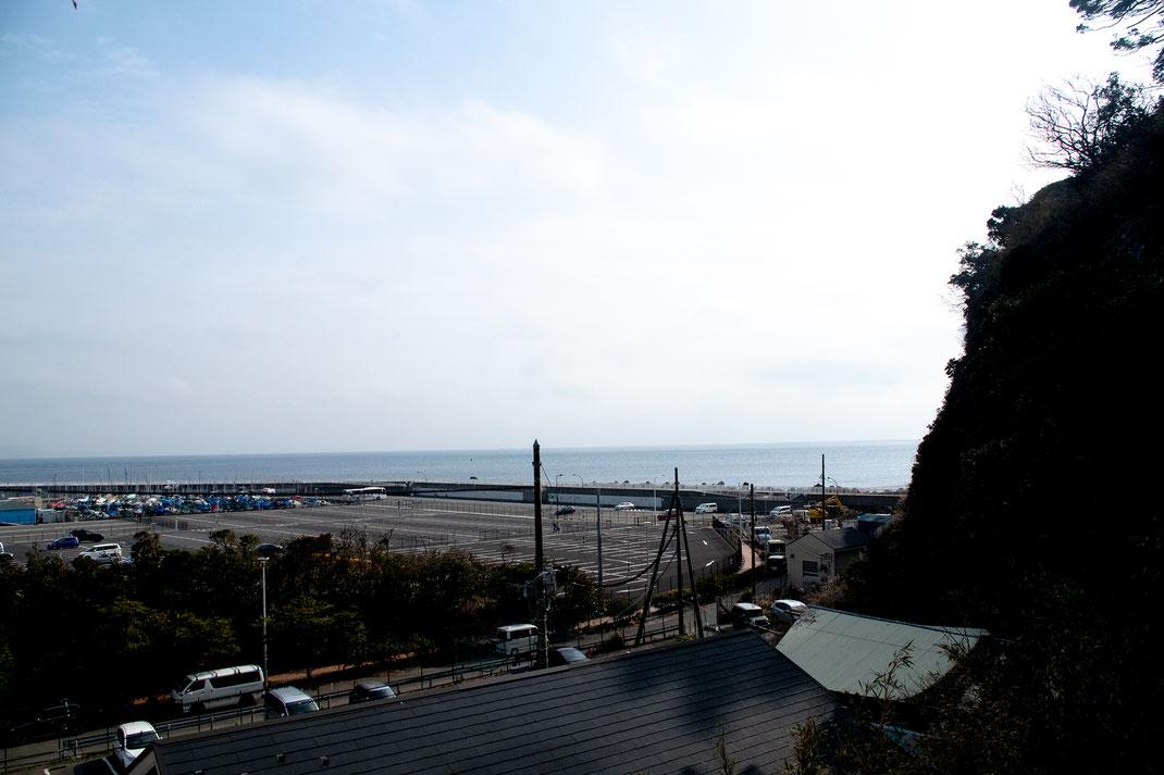 ヒーリングリラクゼーションKisuiから見える江ノ島の景色