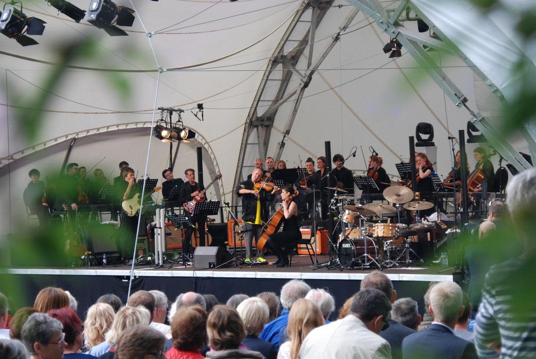 Nigel Kennedy, Festspiele, Musikfestspiele, Bühne, Open Air