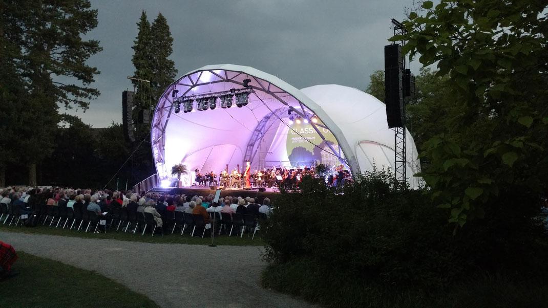 Bühne mieten, Open Air, Orchester, Park, Rychenbergpark, Bühne