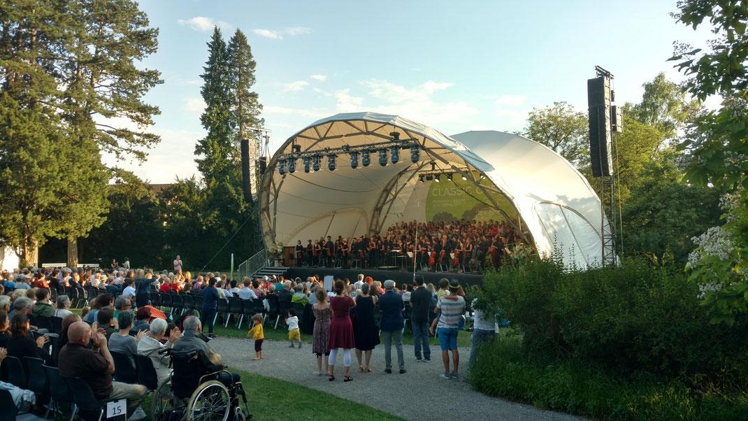Konzertmuschel, Musikkollegium Winterthur, Open Air, Bühne, Bühne mieten