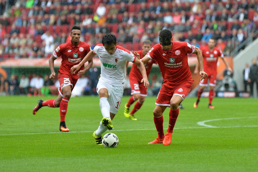 Heimniederlage für den FC Augsburg gegen Mainz 05