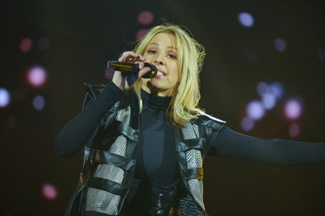 Ellie Goulding bei ihrem Konzert in der Münchner Olympiahalle