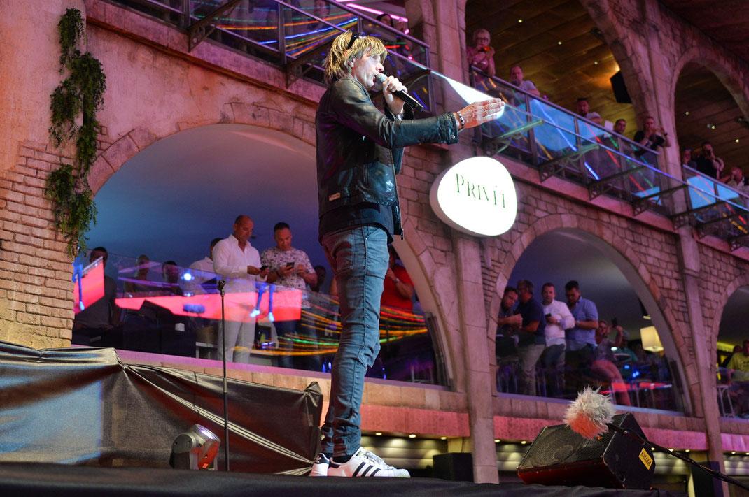 Mickie Krause beim Megapark Saison-Opening 2017