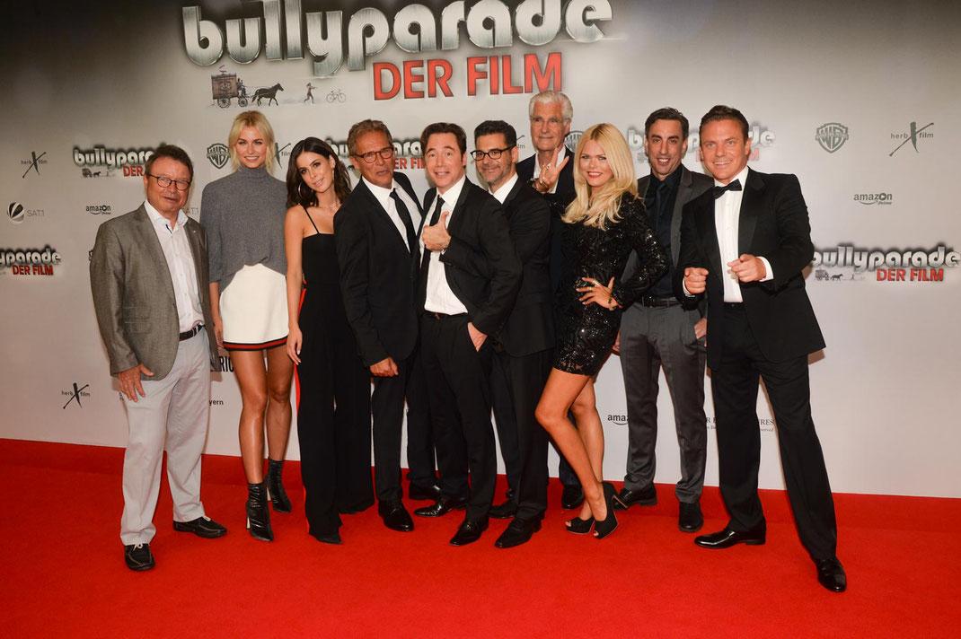"""Weltpremiere von """"Bullyparade - Der Film"""" in München"""
