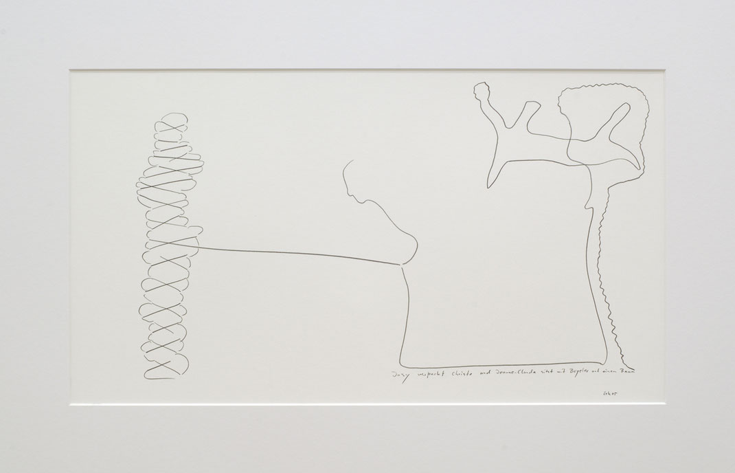 Klossner Franticek / Frantiček / Galerie Mönch Berlin Germany / Kunst der Gegenwart / Kunsthalle Bern / Gedenkausstellung Harald Szeemann