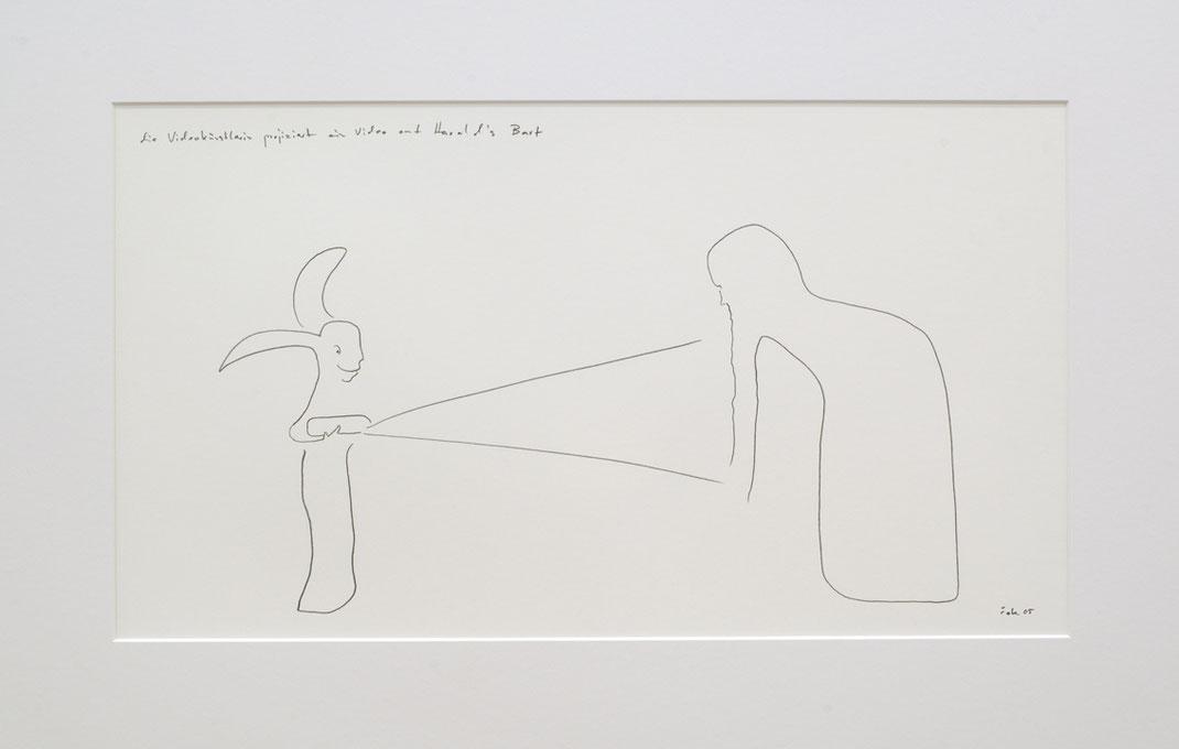 Franticek Klossner - Zeichnungen - Drawings - Galerie Mönch Berlin