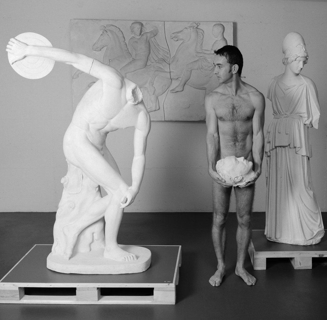 Franticek Klossner - Kunstmuseum Bern - Neue Männerbilder in der europäischen Gegenwartskunst