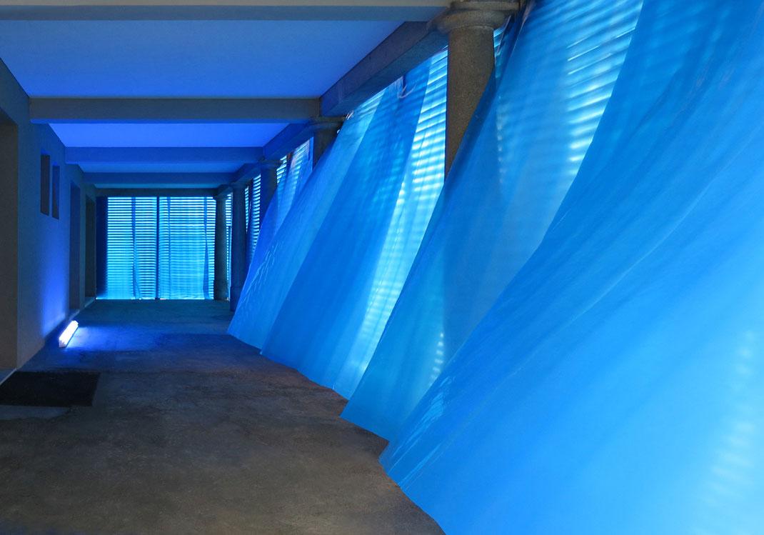 Kunsthalle Wil SG - Der blaue Raum - Franticek Klossner - Die Farbe Blau in der zeitgenössischen Kunst