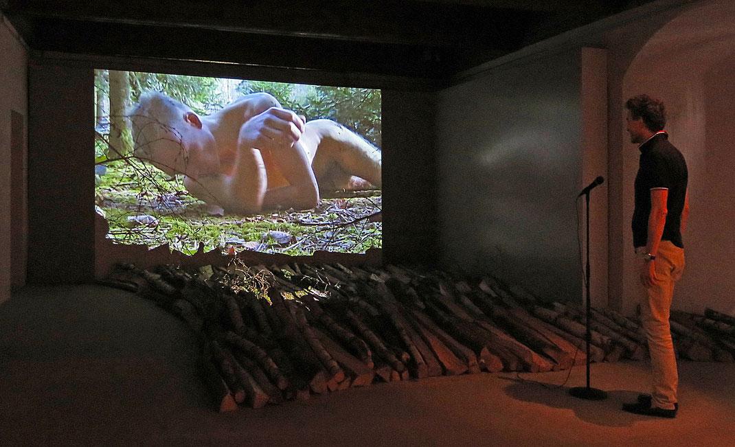 Interactive Video Art - Musee historique et des porcelaines - Chateau de Nyon - des hommes et la foret