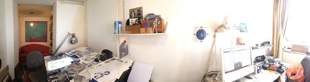 L'atelier de la rue Planterose
