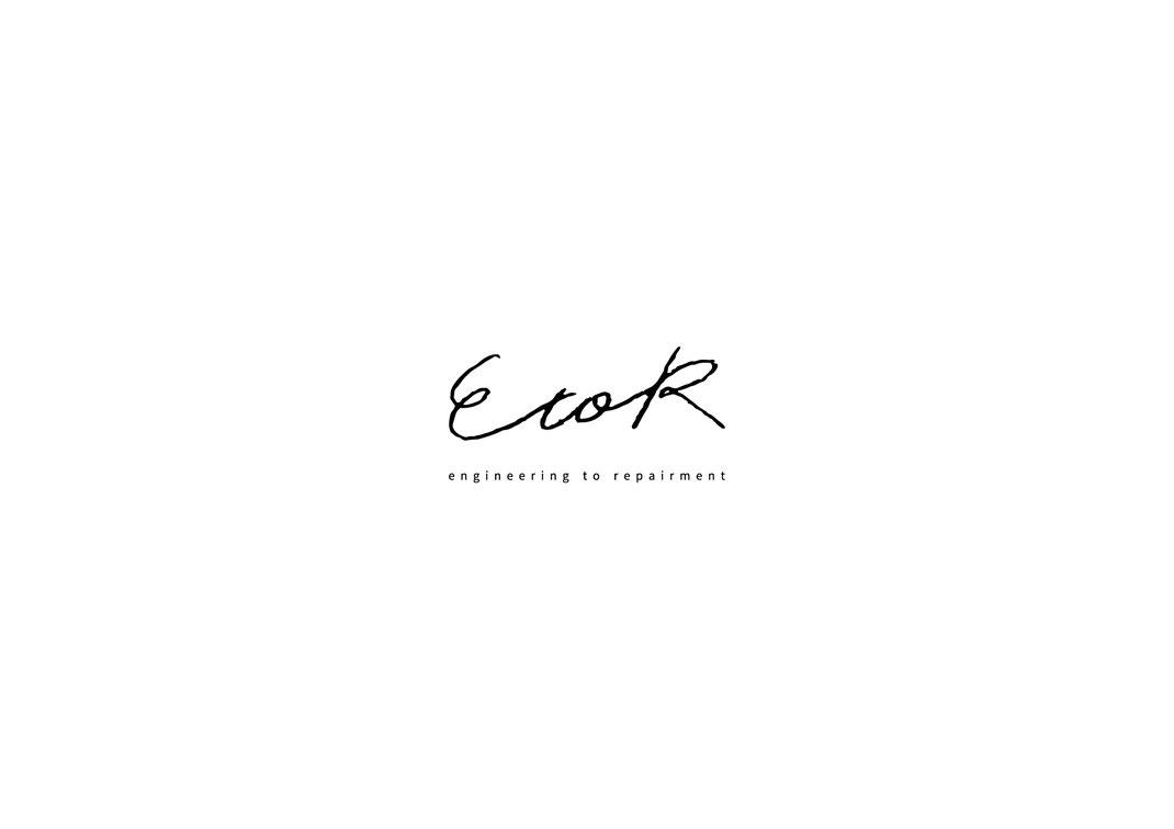 brand [ EtoR ] logo design