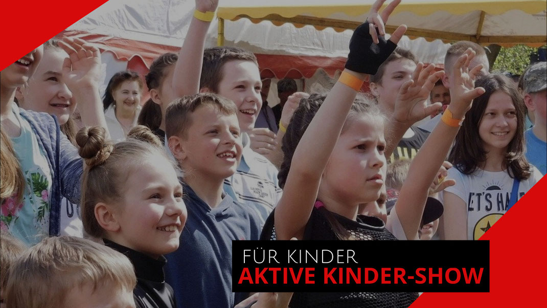 Zaubershow für Kinder mit Zauberkünstler Jeff de Fire aus Kiel.