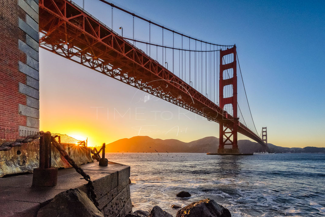 The golden Gate | Das goldene Tor | San Francisco | USA | Stadt-Kultur-Fotografie | Urban & Culture Photography