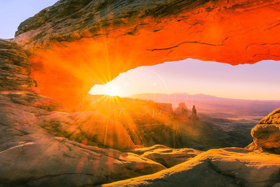Gate of Fire | Das Feuertor | Mesa Arch | Utah | USA | Landschafts- & Naturfotografie | Landscape & Nature Photography