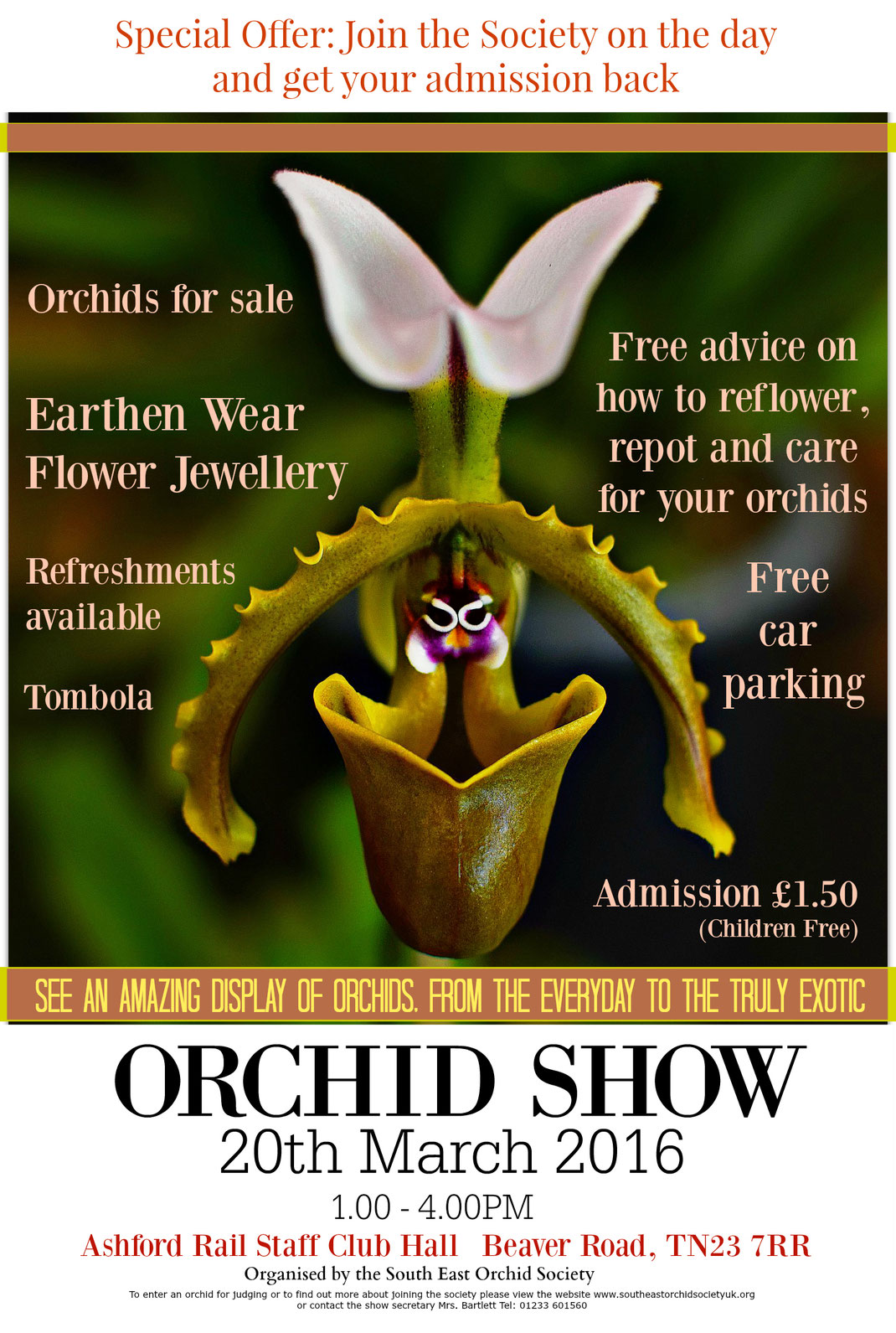Spring Show South East Orchid Society 2015