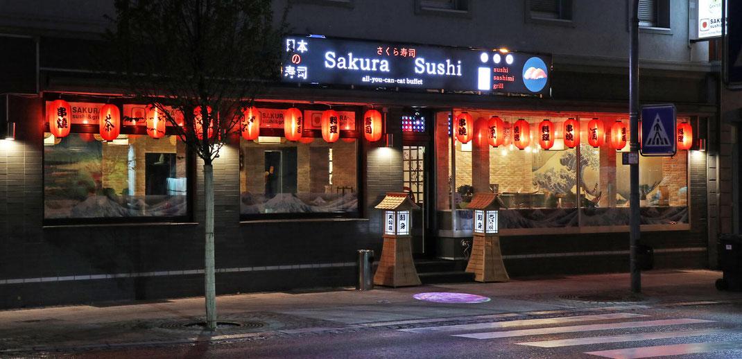 Asiatisches Restaurant Sakura in Rheinfelden, Deutschland