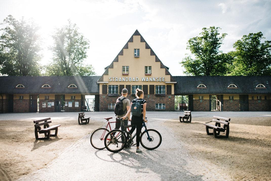 Strandbad Wannsee Nikolassee Route