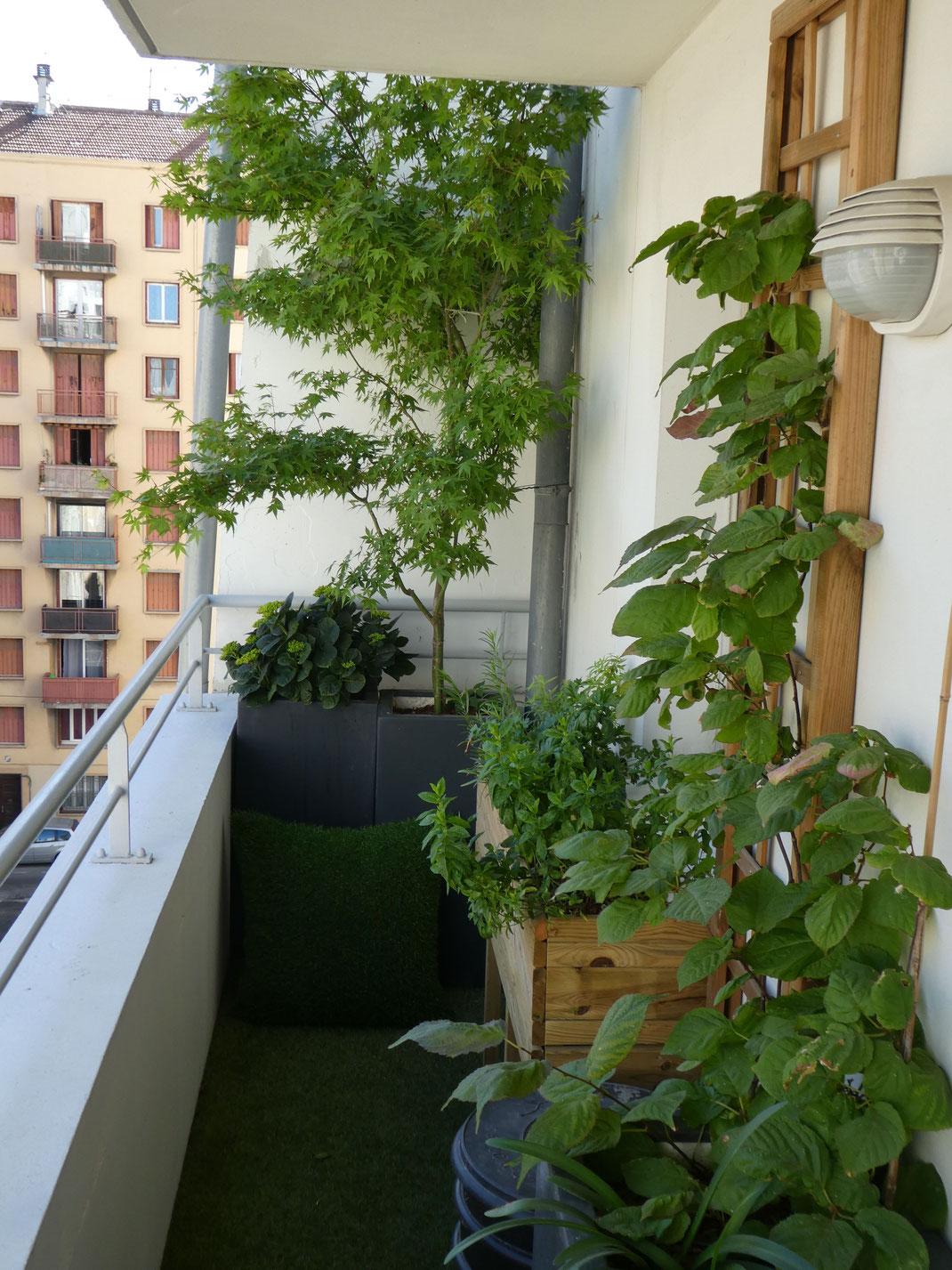 Création d'un balcon à Marseille