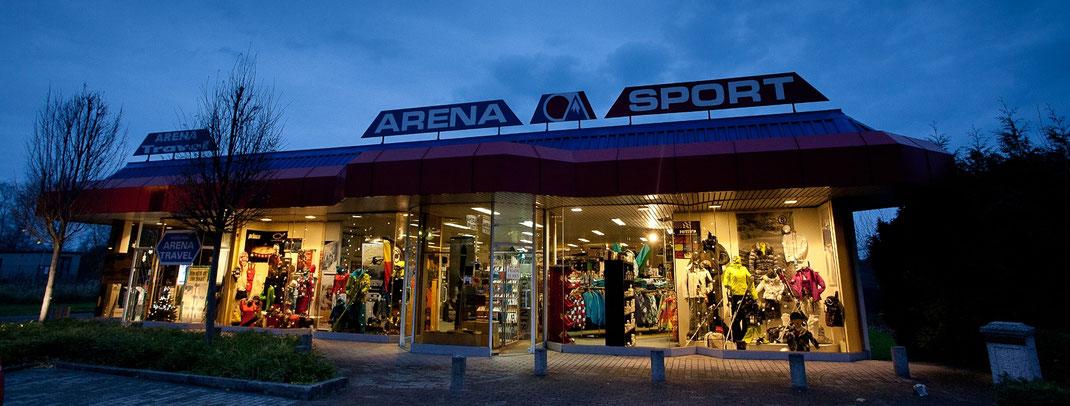 foto etalage arena sport