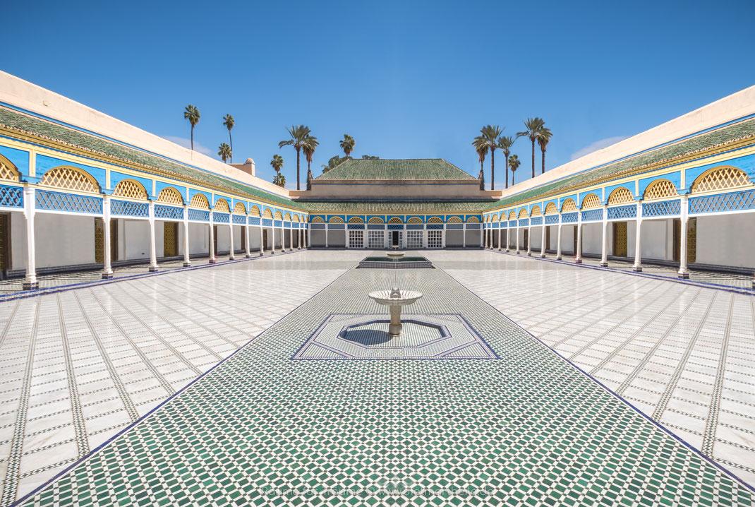 Marrakesh, Marokko, Islam, Bahia Palace, Dietmar Theile Fotografie, Räume für Träume, Harem, Sony A6000,
